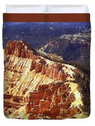 Cedar Breaks Utah Duvet Cover