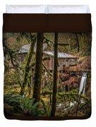 Cedar Creek Grist Mill 2 Duvet Cover