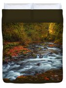 Cedar Creek Morning Duvet Cover