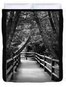 Cedar Pathway Duvet Cover