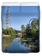 Cedar Point Ohio Duvet Cover
