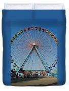 Cedar Point Sunday Duvet Cover