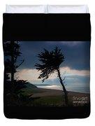 Cedar Silhouettes Duvet Cover