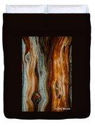 Cedar Texture Duvet Cover