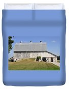 Cedar View Farm Barn Duvet Cover