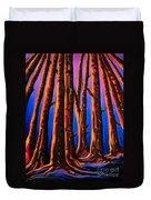 Cedars In Stanley Park Duvet Cover