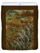 Cedars In The Fall Duvet Cover