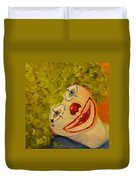 Cee-cee, Child Clown  Duvet Cover