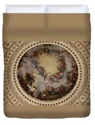 Ceiling Fresco - Cupola Capitol Washington Dc Duvet Cover