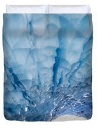 Jagged Ceiling Of Paradise Ice Cave Duvet Cover