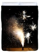 Celebrate A New Year Duvet Cover