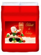 Celebrate The Holidays Duvet Cover