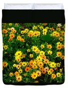 Celebration Of Yellows And Oranges Study 3 Duvet Cover