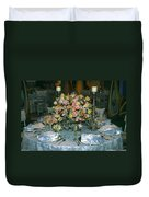 Celebration Table Duvet Cover