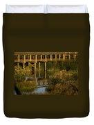 Celery Fields Duvet Cover