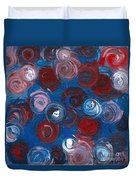 Celestial Bouquet Duvet Cover