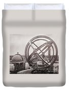 Celestial Globe And Sphere Beijing Duvet Cover