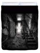 Cell Block - Historic Ruins - Penitentiary - Gary Heller Duvet Cover