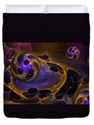 Cell Forms 2 Duvet Cover