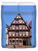 Celle Old Houses Duvet Cover