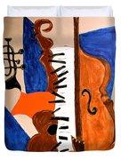Cello II Duvet Cover