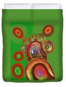 Cells Duvet Cover