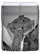 Celtic Cross At Trinity Duvet Cover
