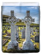 Celtic Crosses Duvet Cover