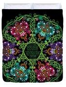 Celtic Fairy Mandala Duvet Cover