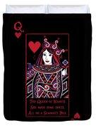 Celtic Queen Of Hearts Part I Duvet Cover