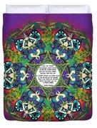 Celtic Spring Fairy Mandala Duvet Cover
