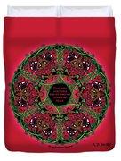 Celtic Summer Fairy Mandala Duvet Cover