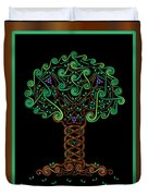 Celtic Tree Of Life Duvet Cover