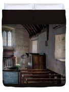 Celynnin Church Duvet Cover