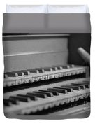 Cembalo Keyboards Duvet Cover