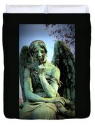 Cemetery Angel 2 Duvet Cover