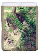 Cemetery Bench II Duvet Cover