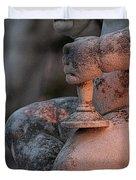 Cemetery Cherub - Hvar Croatia Duvet Cover