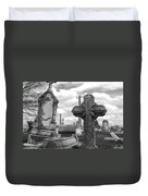 Cemetery Graves Duvet Cover