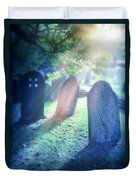 Cemetery Light Duvet Cover