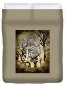Cemetery Shades Duvet Cover