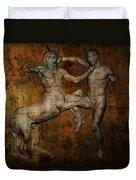 Centaur Vs Lapith Warrior Duvet Cover