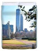Centennial Olympic Park Duvet Cover