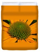 Center  Of Cone Flower Duvet Cover