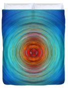 Center Point - Abstract Art By Sharon Cummings Duvet Cover