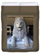 Center Street Lion Duvet Cover