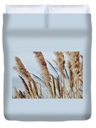 Central Coast Pampas Grass II Duvet Cover