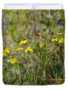 Central Florida Wildflowers Duvet Cover