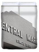Central Market Duvet Cover