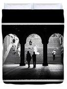 Central Park Bride II Duvet Cover